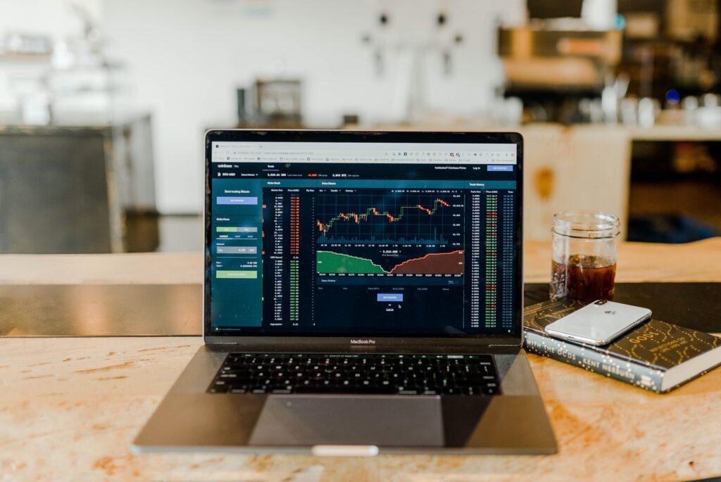 仮想通貨取引所画面